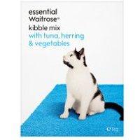 essential Waitrose kibble mix with tuna, herring & veg