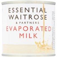 essential Waitrose Evaporated Milk
