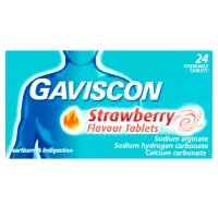 Gaviscon Strawberry Tablets