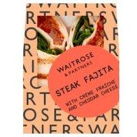 Waitrose Steak Fajita