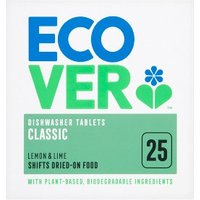 Ecover 25 Dishwasher Tablets Classic