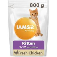 Iams for Vitality with Chicken Kitten