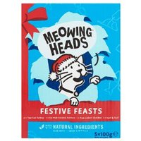 Meowing Heads Festive Feasts