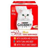 Gourmet Mon Petit Duo Fish, Poultry & Meat