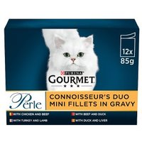 Gourmet Perle Connoisseurs Duo Cat Food Meat