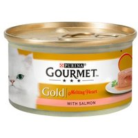 Gourmet Gold Melting Heart with Salmon