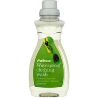 Waitrose waterproof clothing wash