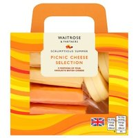 Waitrose Picnic Cheese Selection