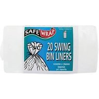 Robinson Young Safewrap Swing Bin Liners 1220x760mm 20 - RY00441