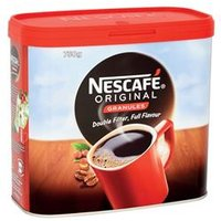 Nescafe Original Instant Coffee Granules Tin 750g - 12315566