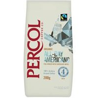 Percol Fairtrade Cafe Americano Ground Coffee Organic - 0403154