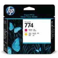 HP 774 Magenta and Yellow Printhead