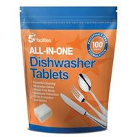 5 Star Facilities All-in-one Dishwasher Tablets [Pack 100] - 940479