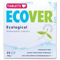 Ecover Dishwasher Tablets Environmentally-friendly - VEVDT - Pack 25