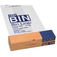 Acorn Bin Liners Reusable Capacity 160 Litres Clear/Printed - 142966