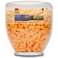 3M Ear Plugs Hypoallergenic Foam Tapered Design Refill Bottle Ref 1100