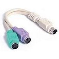 Startech 6in Keyboard Mouse Splitter Cable
