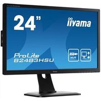 24in LED Monitor HD Speakers Adjustable