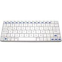 Accuratus Ultra Sleek Mini Wireless White Keyboard