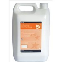 5 Star Facilities Antibacterial Lotion Hand Soap 5 Litre - 936562