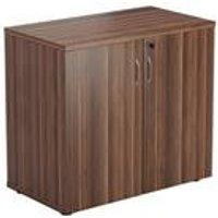 Desk High Cupboard - Dark Walnut - TES745CPDW