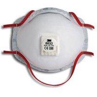 3M 8833 Mask Ffp3V (5 Pack) - 8833SP