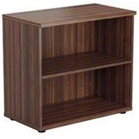 Desk High Book Case - Dark Walnut - TES745DW