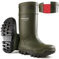 Dunlop Purofort Thermo+ Full Safety Wellington Green 13 - C66293313