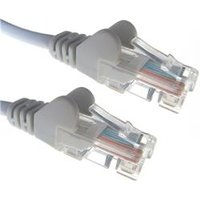 Group Gear (10m) RJ45 Cat6 UTP Network Cable (Grey) - 31-0080G