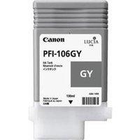 Canon PFI-106GY (Grey) Ink Tank (130ml) - 6630B001AA