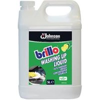 Brillo Concentrated Washing Up Liquid 5 Litre