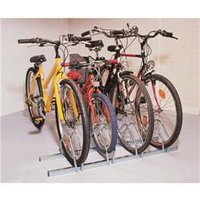 Cycle Rack 3-Bike Capacity Aluminium