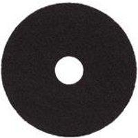 15in Standard Speed Floor Pad Black (5 Pack)