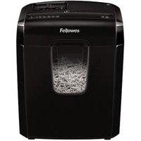 Fellowes Powershred 3C paper shredder Cross shredding 22 cm Black