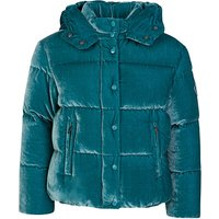 Moncler Enfant Turquoise Caille Jacket  - Size 6 Years