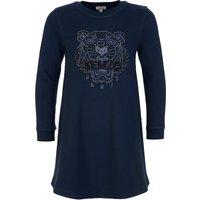 KENZO Kids Navy Tiger Sweatshirt Dress - Size 12 Years