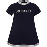 Moncler Enfant Navy 2-Piece Dress and Shorts Set - Size 9 - 12 Months