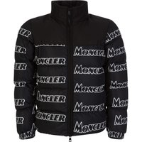 Moncler Black Faiveley Logo Jacket - Size L