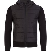 Barbour International Kids Black Albie Hybrid Zip-Through Jacket - Size 8 - 9 Years