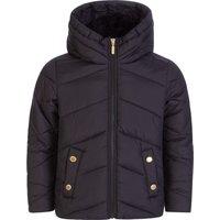 Barbour International Kids Black Montegi Jacket - Size 6 - 7 Years