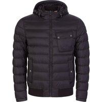 Belstaff Black High-Density Poly Streamline Puffer Jacket - Size L