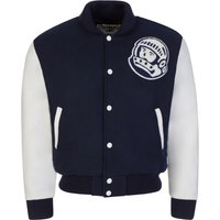 Billionaire Boys Club Navy Astro Varsity Jacket - Size M