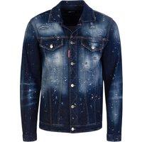 Dsquared2 Blue Over Jean Denim Jacket - Size L