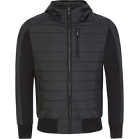 Parajumpers Black Cotton Fleece Gordon Bomber Jacket - Size M