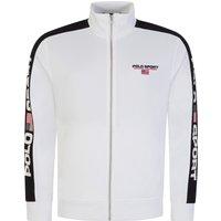 Polo Sport White Zip-Through Track Jacket - Size XXL
