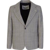 Vivienne Westwood Grey Classic Check Jacket - Size L