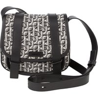 KENZO Black/Grey Courier Small Jacquard Messenger Bag - Size One Size