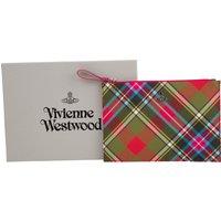 Vivienne Westwood Bruce of Kinnard Tartan Derby Pouch - Size One Size