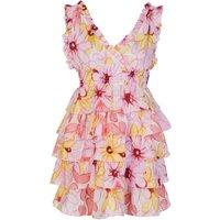 Sundress Pink Lolita Short Dress - Size 8