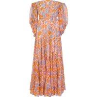 Sundress Pink Salome Floral Maxi Dress - Size 10 - 12+